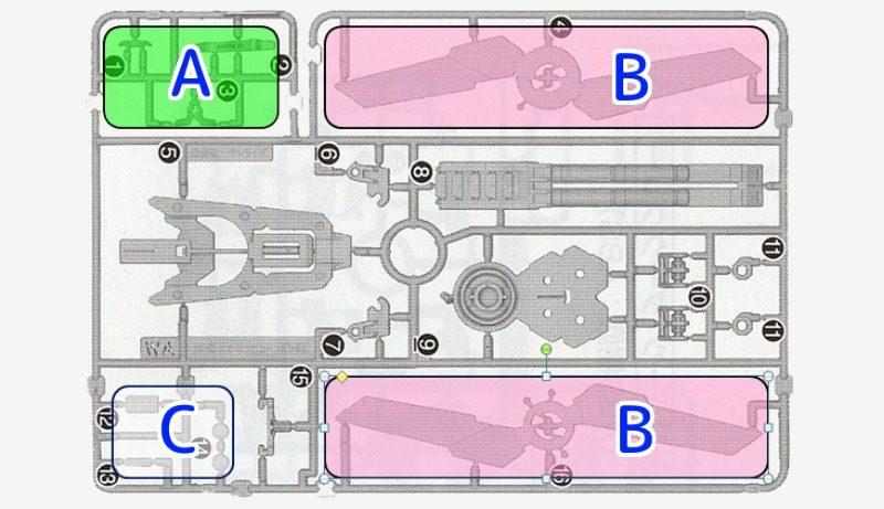 イロプラの例:PGユニコーンのWAランナー
