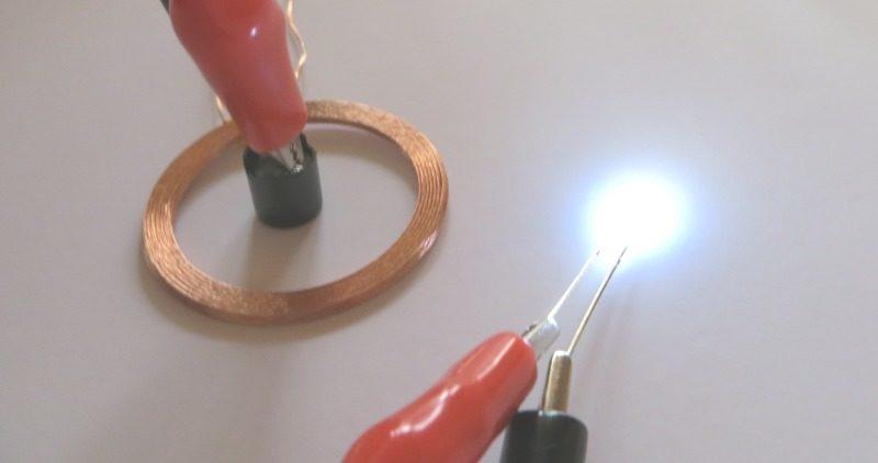 Φ3のLEDを使った場合:点灯状態