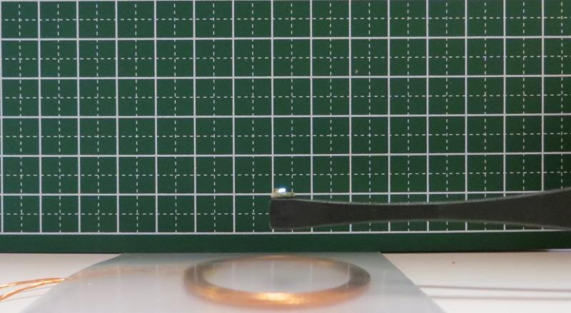 図4 5V入力 ワイヤレスLED点灯上限