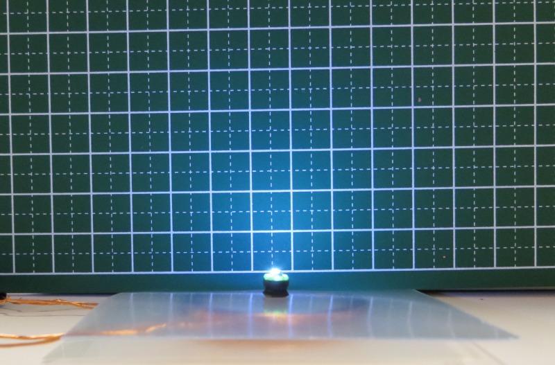 ワイヤレスLED給電ユニット2個:暗い組み合わせ