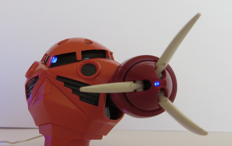 ストリングLED組み込み例:ストリングLED点灯