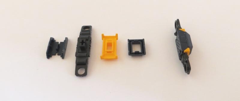 RGニュー・ガンダムのフィン・ファンネル:折り曲げ部分