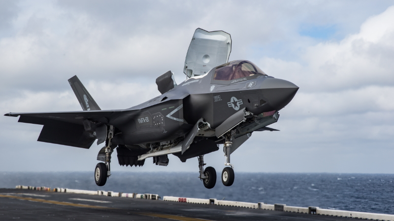 F-35B:STOVL(Short Take-Off and Vertical Landing)
