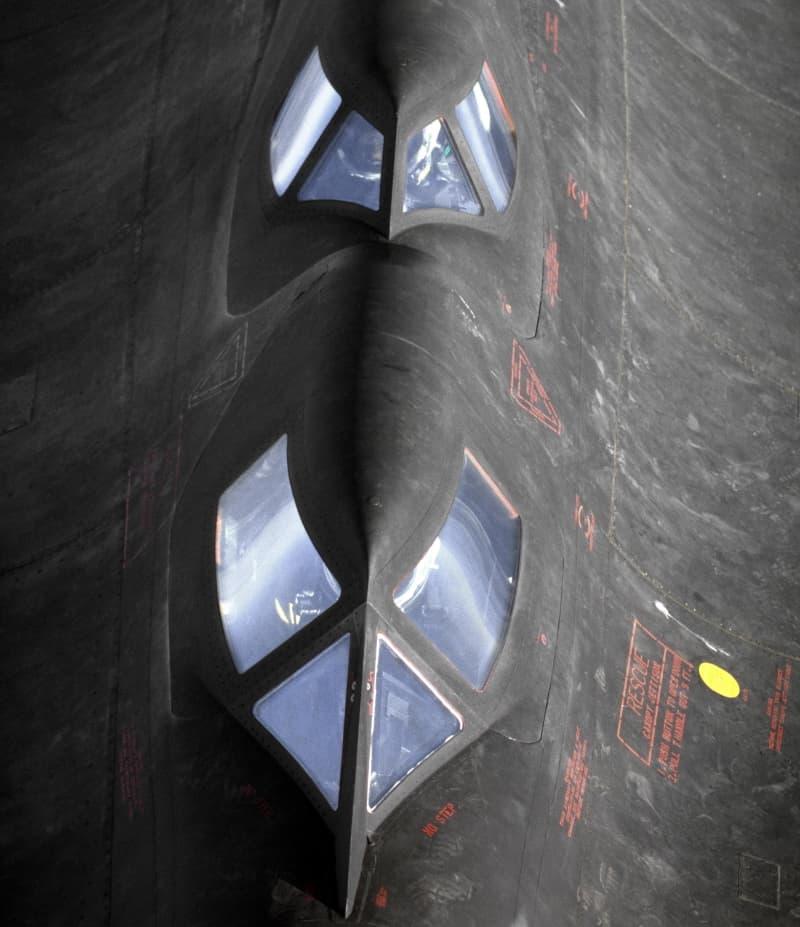 SR-71の操縦席