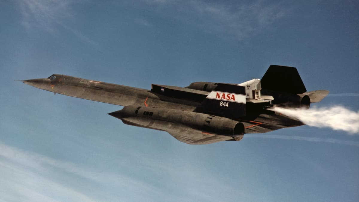 First Cold Flow Flight of SR-71 LASRE Successful