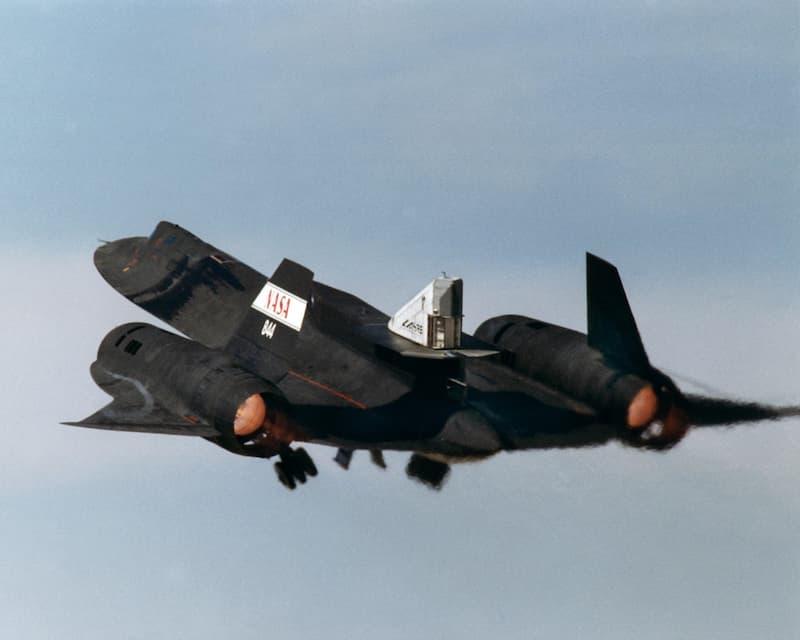 SR-71のLASREによるコールドフロー試験