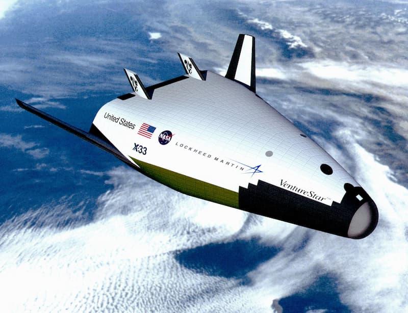 X-33の構想図(その1)