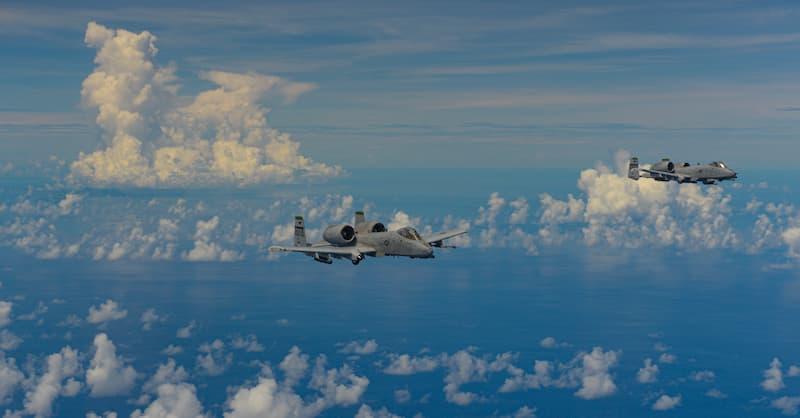 A-10サンダーボルトII:訓練中