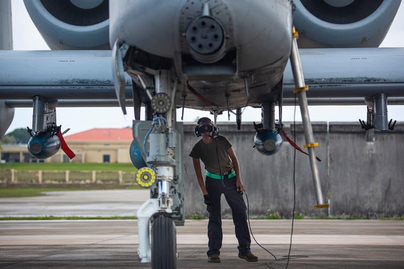 A-10サンダーボルトII:主脚周り
