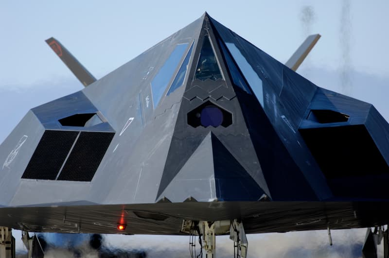 F-117:Holloman Air and Space Expo