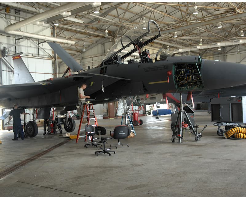 F-15 MXG Phase Maintenance