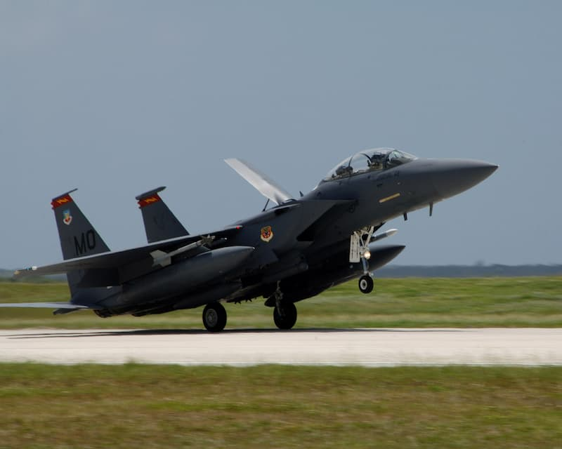 F-15E Strike Eagles Arrive at Andersen