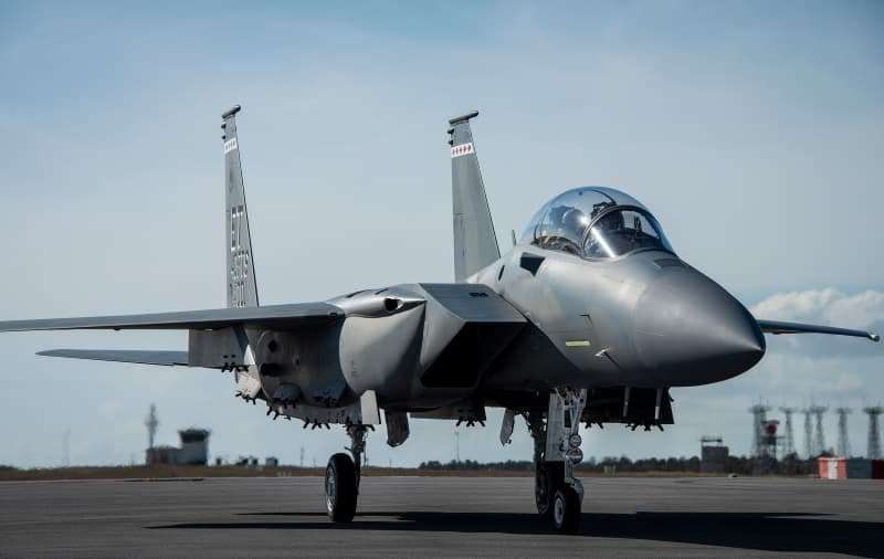 F-15EX:F-15EX arrives at Eglin Air Force Base