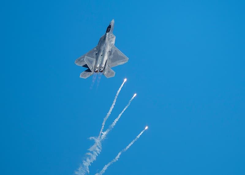 F-22:フレア投射