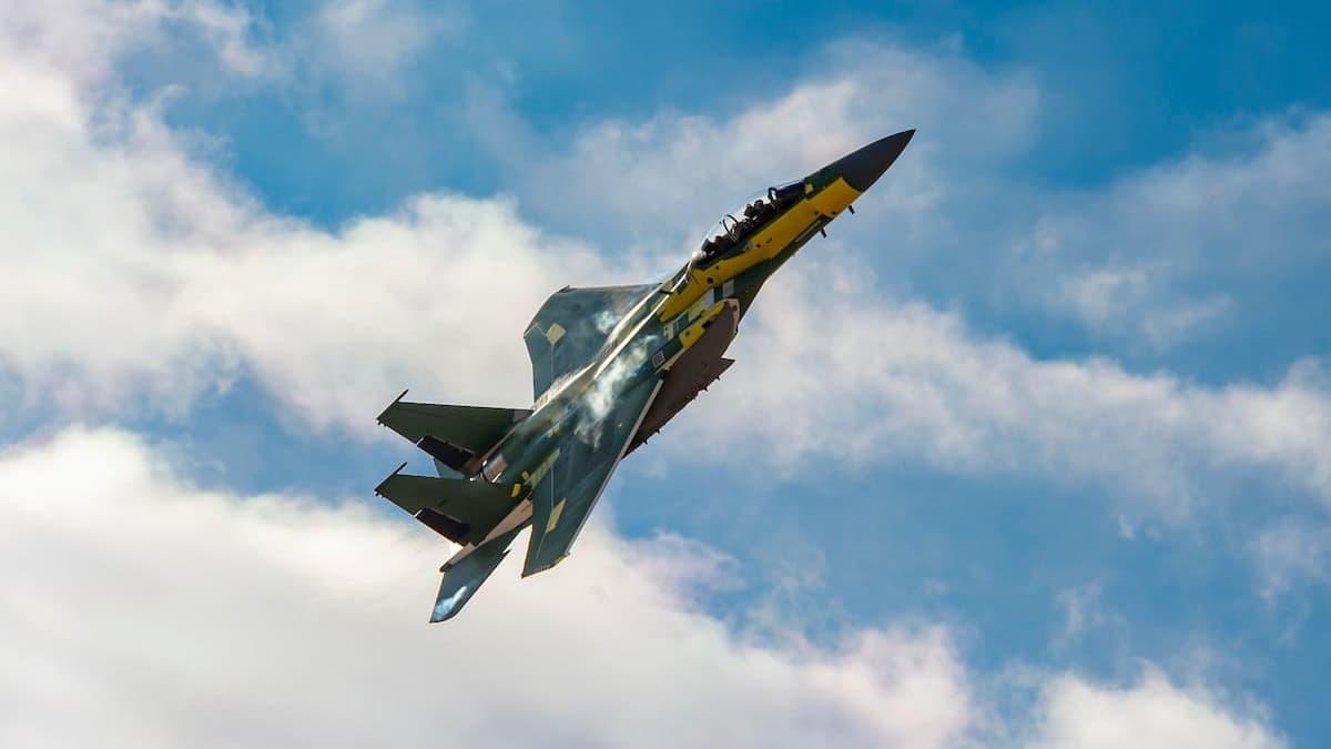 First USAF F-15EX takes flight