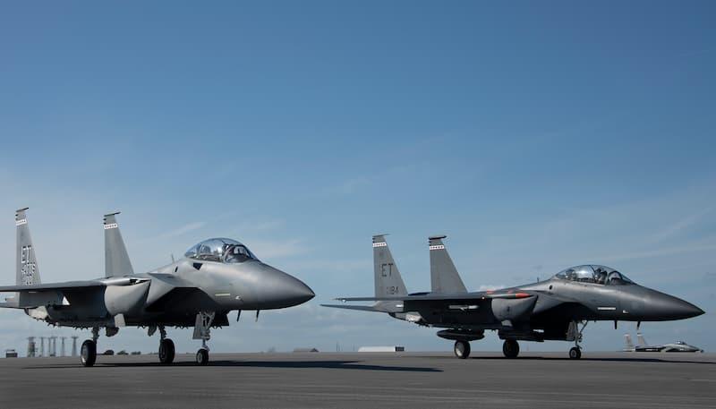 エグリンに到着したF-15EX:F-15EX arrives at Eglin