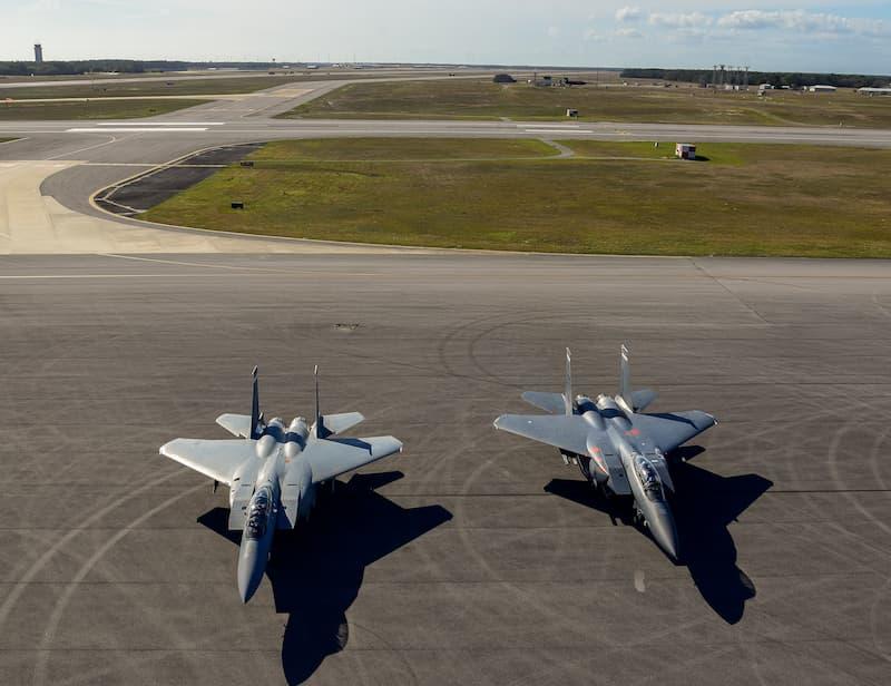 空軍初のF-15EXがエグリンに到着:AF's first F-15EX arrives at Eglin