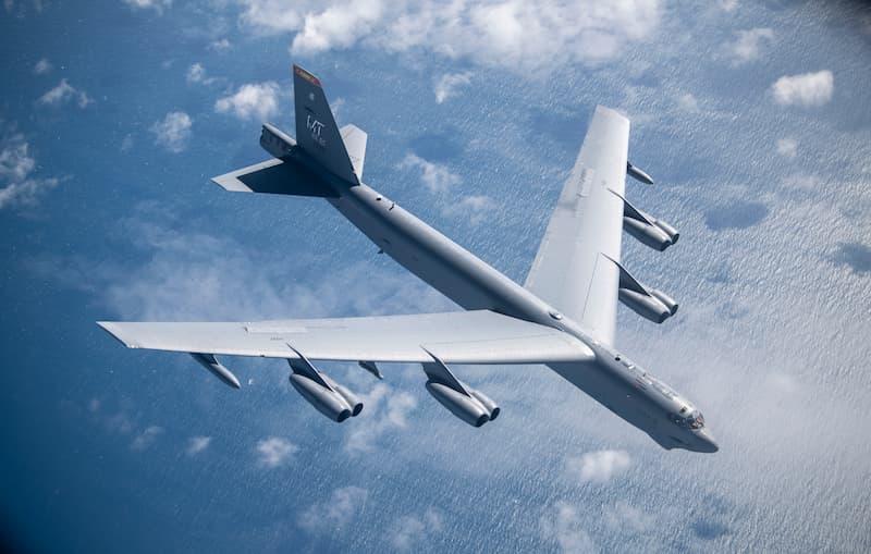 B-52:100th ARW fuels B-52 off Norwegian coast