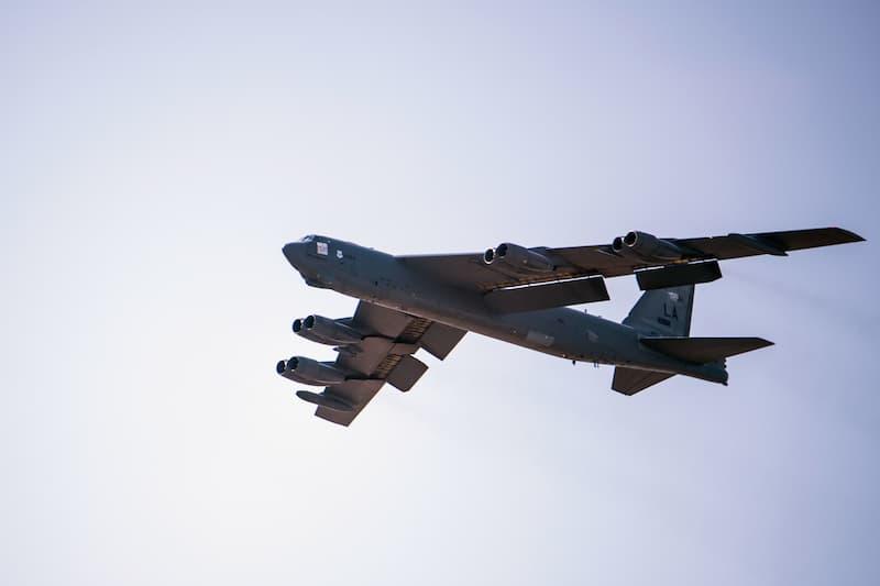 B-52:U.S. B-52s Cross Atlantic for BTF Mission Supporting NATO
