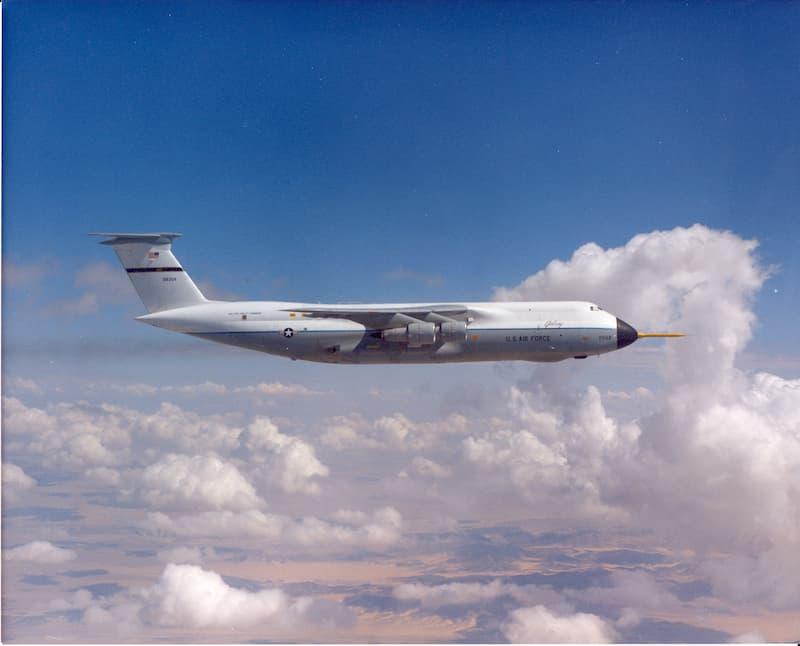 C-5A Galaxy testing