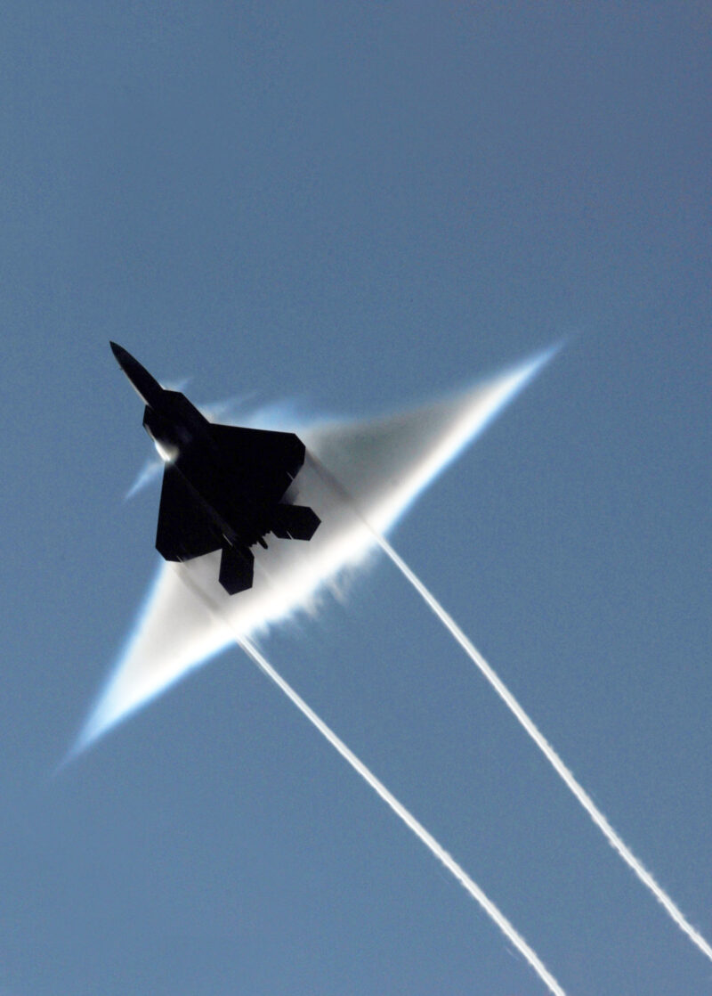 F-22:Going supersonic