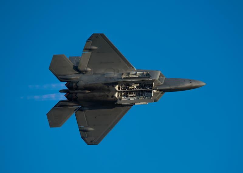 F-22:2種類のウェポンベイ