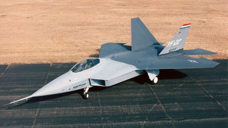 Lockheed-Boeing-General Dynamics YF-22